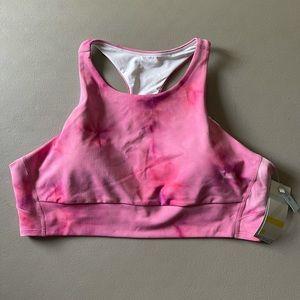 Zella Yoga Studio Tye Dye Sports Bra NWT